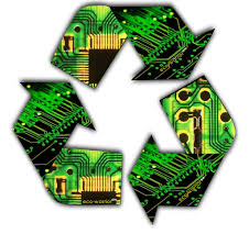 electronic recycle symbol